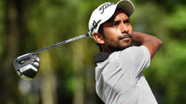 A file photo of golfer Rashid Khan.(Twitter)
