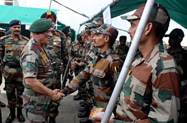 Chief of Army Staff General Bipin Rawat has said that armed forces are ready for any eventuality including action in the PoK(ANI Photo/File)