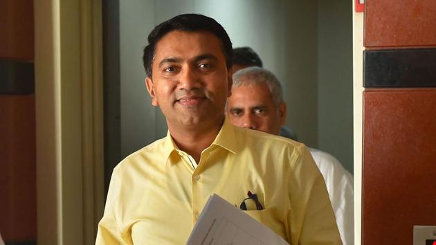 Goa Chief Minister Pramod Sawant said that the government could not compromise the state's interest on the Mhadei river water.(PTI)