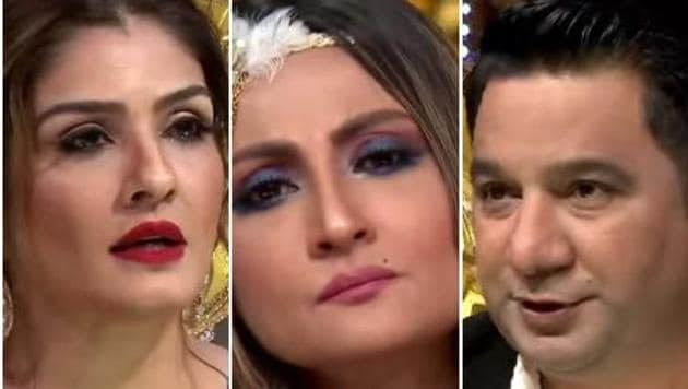 Urvashi Dholakia, Raveena Tandon and Ahmed Khan will reportedly have an argument on the next episode of Nach Baliye 9.