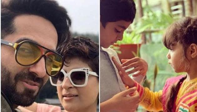 Ayushmann Khurrana and Tahira Kashyap have two children, Virajveer and Varushka.
