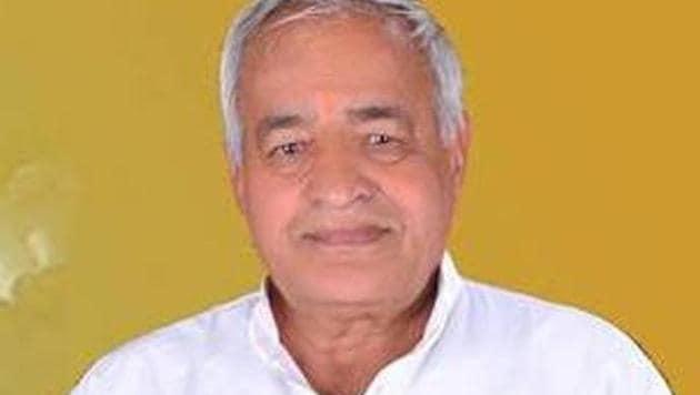 Randhir Singh Kapriwas, Rewari MLA(HT photo)
