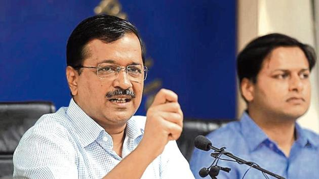 Kejriwal said the govt is also working on setting up a control room for monitoring the plan .(HT image)