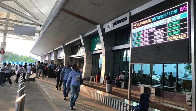 Facial recognition biometric technology at Lohegaon airport, to be ready in 2020, will make travel hassle-free.(HT FILE)