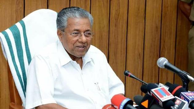 Kerala Chief Minister Pinarayi Vijayan said the perception that only Hindi can unite the country is completely wrong(Facebook/Pinarayi Vijayan)