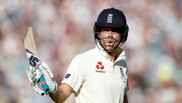 England's Joe Denly walks off the pitch dejected(Action Images via Reuters)