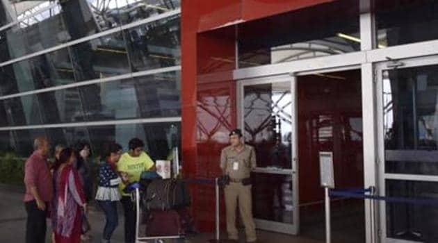 """Treating """"insider risk"""" as the next major challenge confronting the aviation sector, the civil aviation ministry has decided to restrict the movement of employees working on airport premises.(HT File Photo)"""