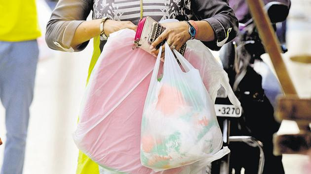 Amanora Park Town, a private township in the city, launched the'Plastic waste-free Amanora' initiative to restrain the use of plastic among the residents of the township on Saturday.(REPRESENTATIVE PHOTO)