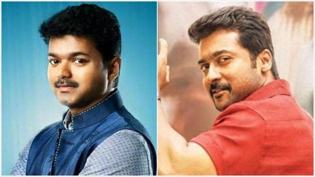 Vijay and Suriya have urged fans not to put up hoarding at their film releases.