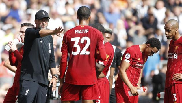 Liverpool's manager Jurgen Klopp(AP)