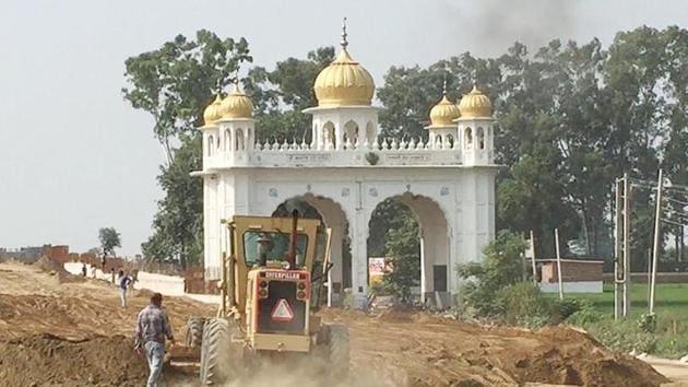 Pakistan on Monday announced that the Kartarpur corridor will be opened for Indian Sikh pilgrims on November 9.(HT Photo)