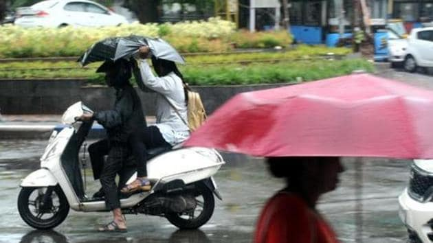 The southwest monsoon overcame an arid start to record slightly above-average rainfall in a year that saw the highest number of extreme rainfall events and the most people killed in the season since relevant data started being recorded in 2010(HT Photo)