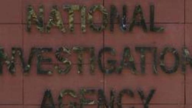 The National Investigation Agency (NIA) has filed a charge sheet against Jaish-e-Mohammad (JeM) operative Sajjad Ahmad Khan, a close aide of February 14 Pulwama attack mastermind Mudassir Ahmad Khan, for planning terror attacks in different parts of India including the National Capital Region.(Vipin Kumar/HT PHOTO)