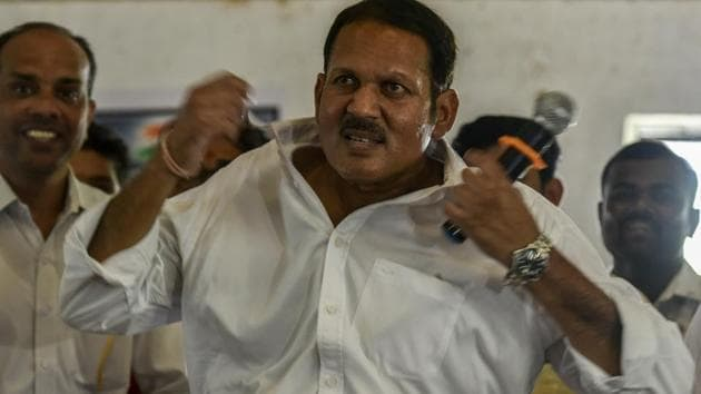 Days after senior Nationalist Congress Party leader Udayanraje Bhosale joined the Bharatiya Janata Party, the Shiv Sena welcomed the descendant of Maratha warrior King Shivaji in the saffron by taking a few digs at him.(Kunal Patil/HT Photo)