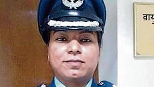 Wing Commander Anjali Singh has become the first woman in the country's military history to be posted in any Indian mission abroad(Twitter)