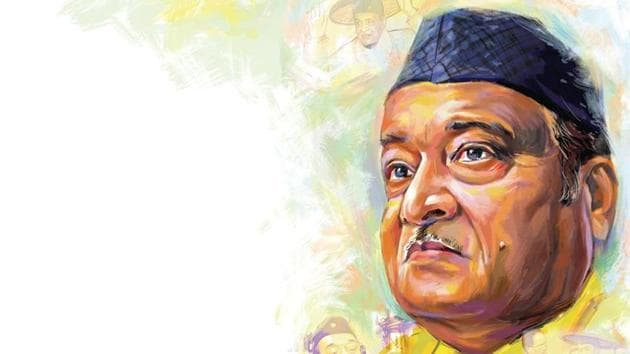 A child prodigy, Bhupen Hazarika, north-east India's uncrowned king of music wrote his first song at the age of 13.(Illustration: Biswajit Debnath)