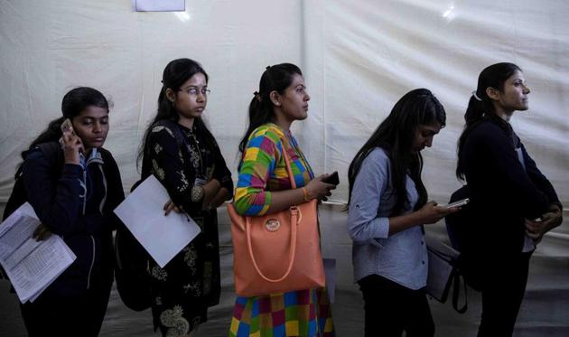 The main concerns of people looking for jobs are financial security and better opportunities. There is no doubt that there is a huge need for job creation across states, but forcing the private sector's hand is not the way to go about it(REUTERS)