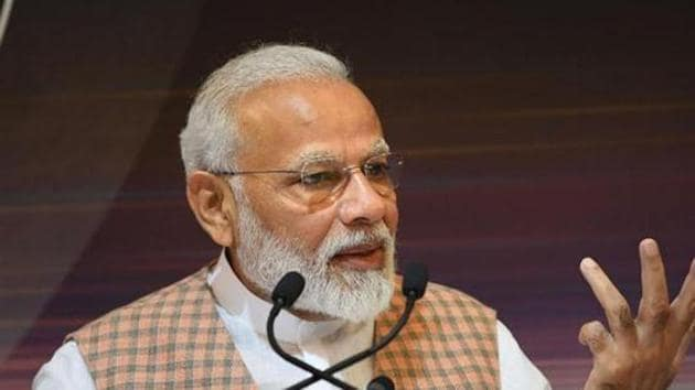 Prime Minister Narendra Modi seeks ideas from the people for his September 22 speech at Houston.(PTI Photo)