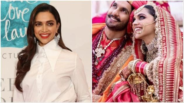 Deepika Padukone got married to Ranveer Singh in October last year but appears to have still not completely soaked it in.