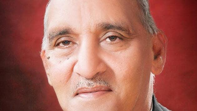 Jagbir Singh Malik, Gohana MLA(HT Photo)