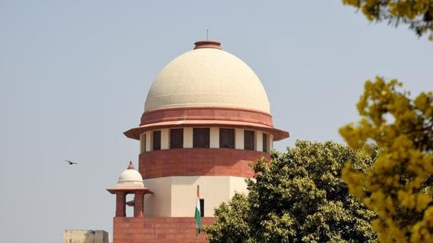 In this the girl has asked the top court to test her case on the touchstone of the Shafin Jahan verdict. Filed by advocate Dushyant Parashar the petition said his client's marriage was valid because both the girl (16) and her husband (24) had attained puberty, there was an offer and acceptance, giving and taking of meher and a nikahnama was drawn with the consent of both.(HT FILE)