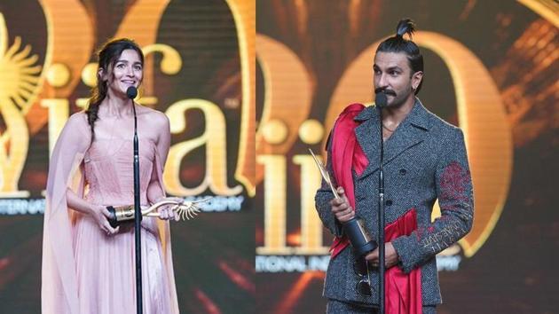 Ranveer Singh and Alia Bhatt bagged the top awards at IIFA 2019 held recently.