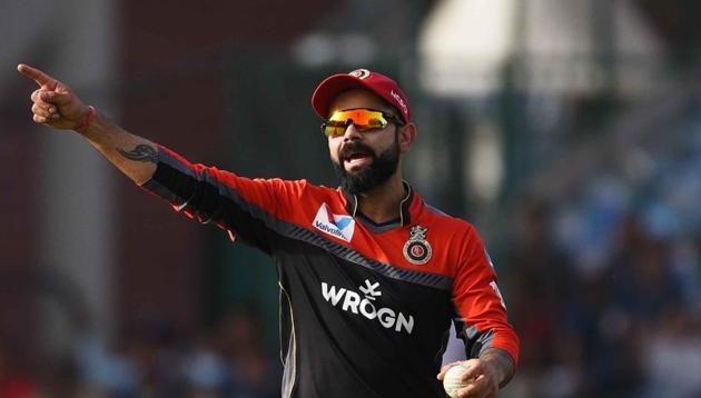 Royal Challengers Bangalore captain Virat Kohli(Vipin Kumar/HT PHOTO)
