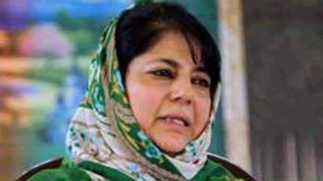 Mehbooba Mufti, former Chief Minister of J&K, has been detained since 5th August 2019.(PTI)