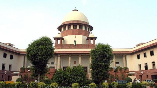 File photo of Supreme Court.(Sunil Saxena/HT File Photo)