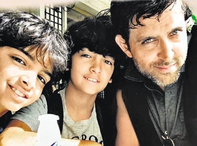 Actor Hrithik Roshan's feed has photographs of bonding vacations with his sons. Stars have become 'intimate strangers', more visible than ever before.