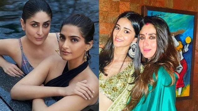 Sonam Kapoor and Ananya Panday shared pictures with Kareena Kapoor to wish the actor on her birthday.