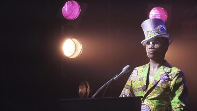 This image released by FX shows Billy Porter in a scene from Pose. The program is nominated for an Emmy Award for outstanding drama series.(AP)
