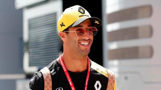 Daniel Ricciardo ahead of the Hungarian Grand Prix.(REUTERS)