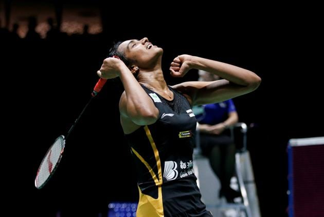 A file photo of Indian shuttler PV Sindhu.(REUTERS)