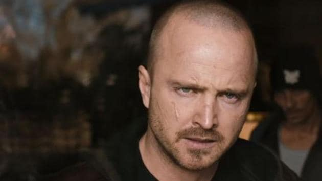 Aaron Paul as Jesse Pinkman in a still from the El Camino trailer.