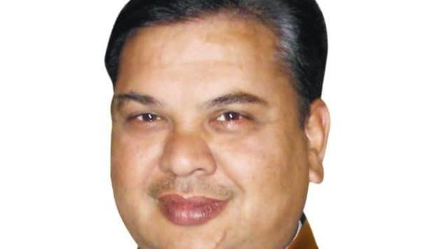 Ghanshyam Saraf, Bhiwani MLA(HT photo)