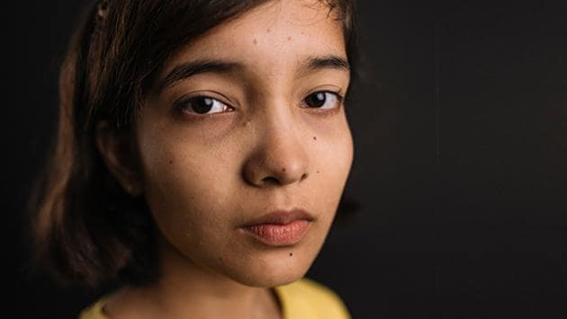 Ridhima Pandey from Uttarakhand is among the sixteen teenagers who have filed a complaint at the UN about climate change.(Photo Credit: ChildrenVsClimateCrisis website.)