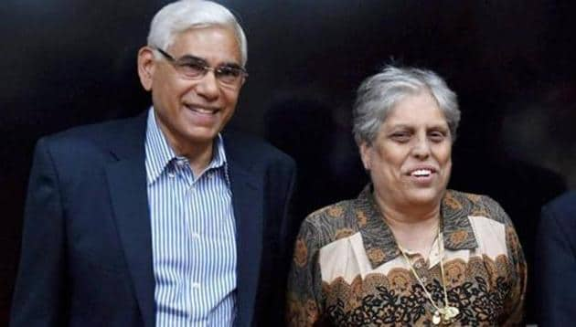 Mumbai: Members of the Supreme Court appointed three-member panel of Board of Control for Cricket in India (BCCI) former CAG India Vinod Rai (L), IDFC Managing Director and CEO Vikram Limaye and sportsperson Diana Edulji (C) after a meeting in Mumbai on Tuesday. PTI Photo by Santosh Hirlekar (PTI1_31_2017_000189B)(PTI)