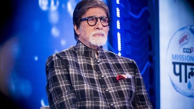 Bollywood actor Amitabh Bachchan has been honoured with the Dadasaheb Phalke Award.(Satyabrata Tripathy/HT Photo)