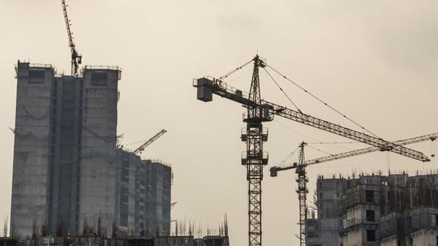 While average size of apartments offered for sale across the country came down to 1,020 sq ft, in the NCR the size was 1,390 sq ft.(Photo: Bloomberg)