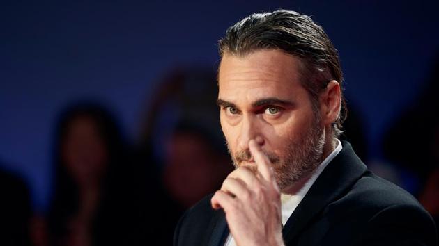Actor Joaquin Phoenix attends the Joker premiere during the 2019 Toronto International Film Festival.(AFP)