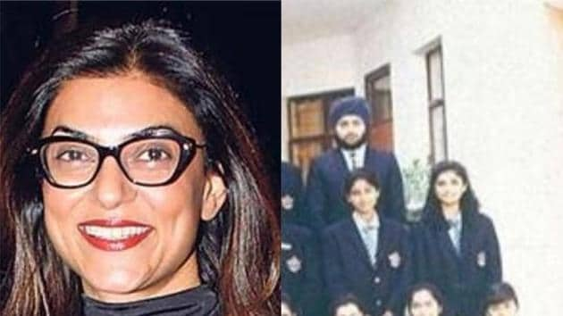 Sushmita Sen shares a throwback picture on Instagram.