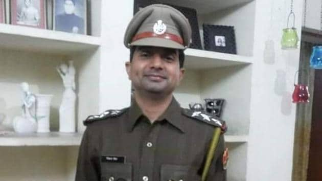 Inspector Vikram Singh was a fourth generation police officer who joined Rajasthan Police in 2002.(Sourced)