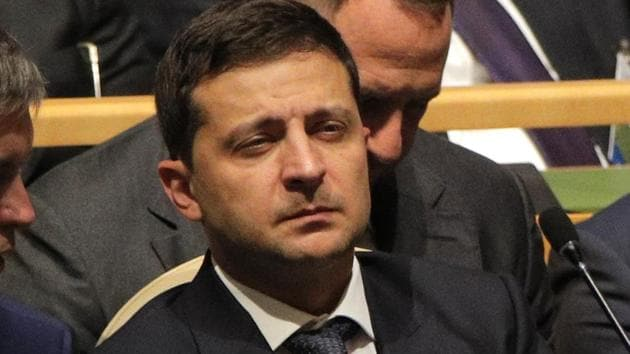Ukraine President Volodymyr Zelensky is going to meet US President Donald Trump for the first time Wednesday on the sidelines of the United Nations General Assembly.(Reuters Photo)