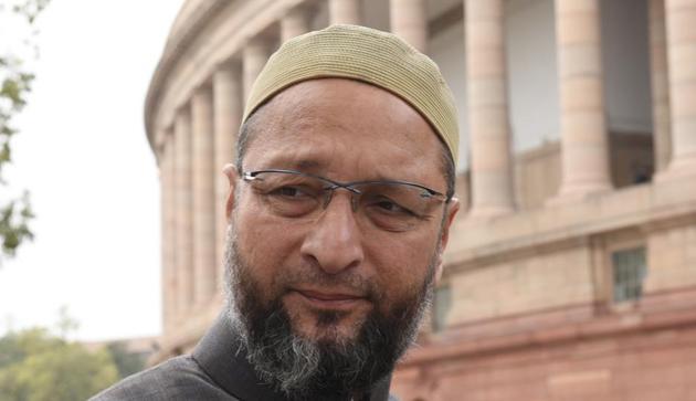 AIMIM leader Asaduddin Owaisi(HT Photo)