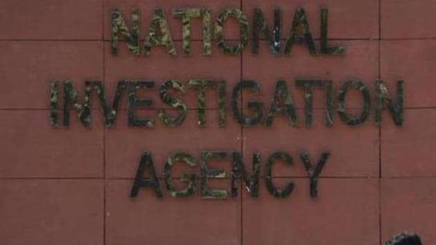 The raids were part of the NIA's crackdown on modules and lone wolves linked to the dreaded Islamic State (IS).(HT PHOTO)