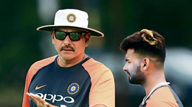 India head coach Ravi Shastri with Rishabh Pant(Getty Images)