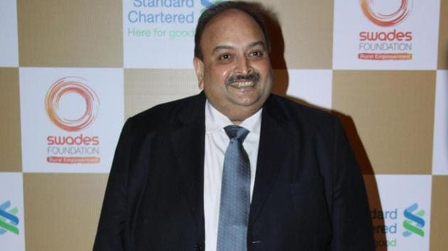 Fugitive diamantaire Mehul Choksi now lives in Antigua and Barbuda after acquiring citizenship in November 2017.(HT FILE PHOTO)