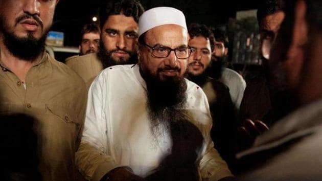 Hafiz Muhammad Saeed,co-founder of Lashkar-e-Taiba and the chief of Jama'at-ud-Da'wah.(Reuters file photo)