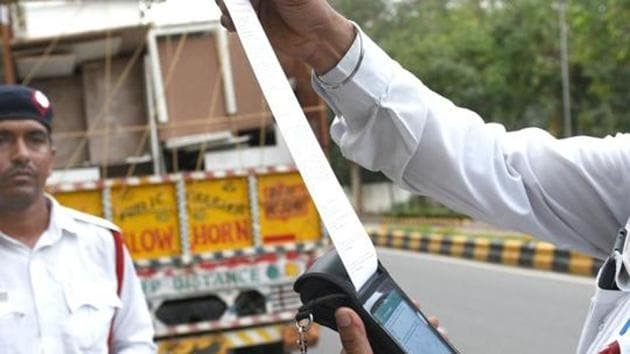 Motor Vehicles (Amendment) Act, 2019 came into effect from September 1.(HT File Photo)